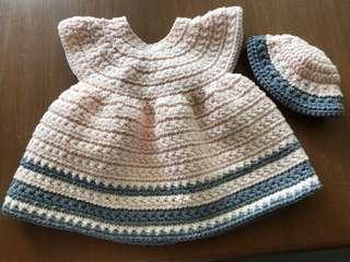 Crochet 🌟 stitch Baby Dress