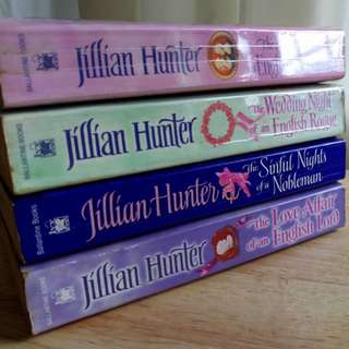 The Boscatle series by Jillian Hunter