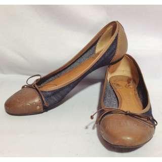 Authentic CHLOE Denim Shoes Size 8