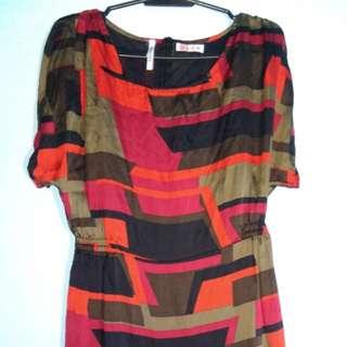 18 Printed Dress
