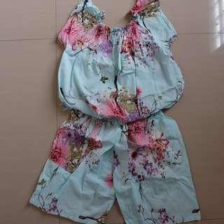 sabrina blue jumpsuit