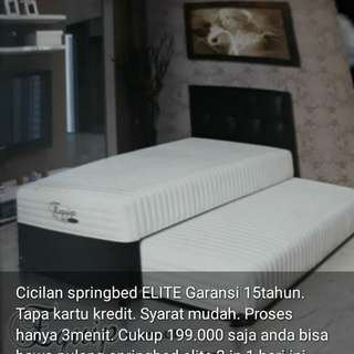 Kredit Springbed elite