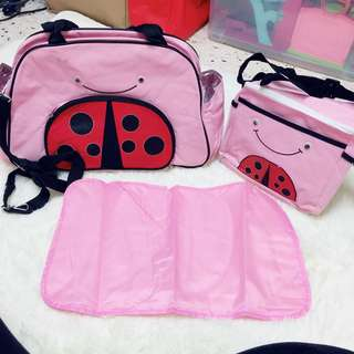 Baby Bag Diapers Bag 3in1 Skip Hop Inspired