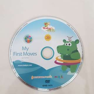 My First Moves - DVD