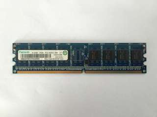 Ramaxel RAM 512MB PC2-4200U-444 1RX8