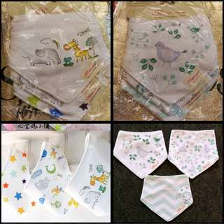 Cute Cotton Bibs!