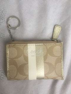 Authentic Coach Coin Holder