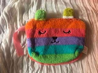 Rainbow color pouch