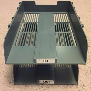 In/Out Paper Trays