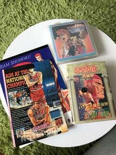 SlamDunk collectibles (Tarot cards & notebooks)