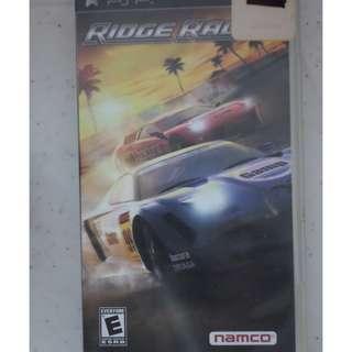 PSP UMD Game ridge racer virtua tennis world tour