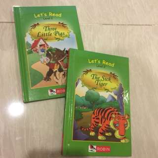 Robin children (2 books) - Let's Read, Level 2