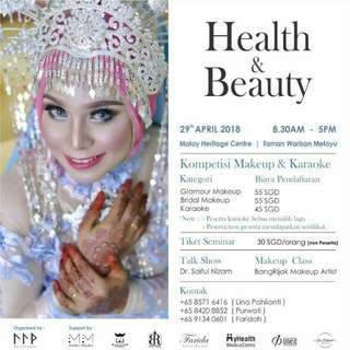Workshop & Competition Health & Beauty