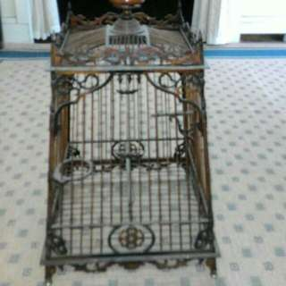A Pair of Antique Bird Cage