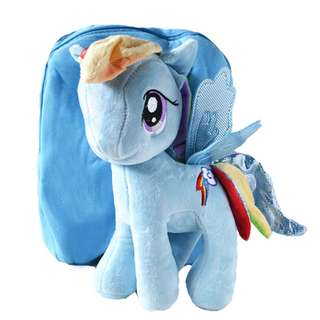 Cutie 3D Cartoon Plush Toy Backpack Outdoor Bag-Pinkie Pie