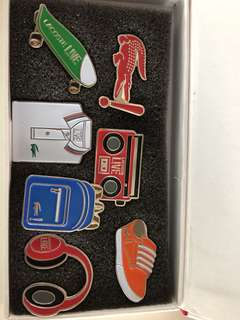 Lacoste Live Pin Limited Edition Authentic in Box