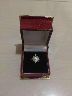 cincin kura2 silver asli