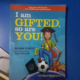 i am gifted so are you - Adam Khoo