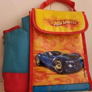 Hot wheels lunch bag