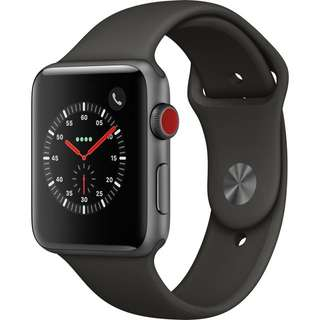 Series 3 GPS Only, 42mm Space Gray Apple Watch