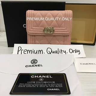 Customer's Order Chanel Wallet in pink