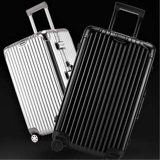 Aluminium Alloy Luggage Transparent Protective Cover + Accessories, Rimowa inspired design and function