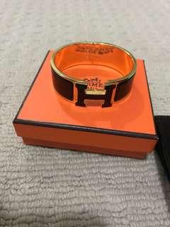 Hermes H click clac H bracelet bangle