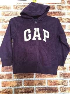 Gapkids fully zip Hoodie dark purple color