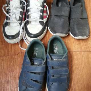 Adidas, Lacoste, Zara kids Shoes for kids