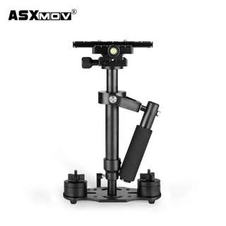 40cm s40 handheld stabilizer steadicam 3 axis dslr video camera gimbal stabilizer with 360 degree adjustment for film shooting