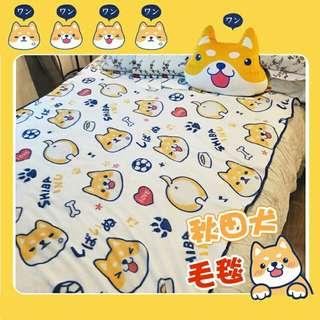Shiba Inu Blanket