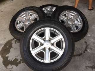 Ford Ranger XLT tires