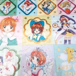 New Set of 5 Cardcaptor Sakura collectible stickers