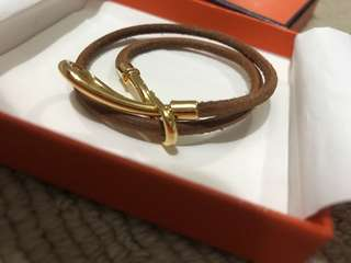 Hermes authentic hook bracelet or chocker