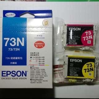 Epson印表機73/73N墨水卡夾 6個(不拆售)