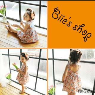 2 to 3 year kids dress back with heart shape cutting.