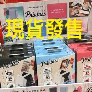 Printoss 現貨 日本printoss 不需用墨曬相機 現貨發售 即日交收