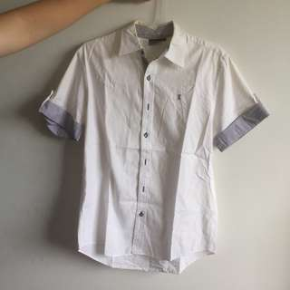 LTD White Shirt Black Edition (Kemeja)