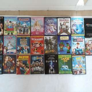Blu Ray & DVD Movies