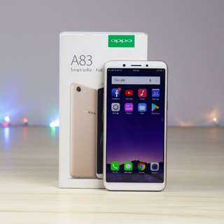 "OPPO A83 Layar 5.7"" Full screen Face Unlock"