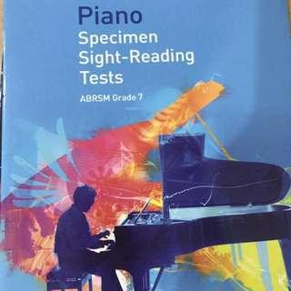 ABRSM Grade 7 Sight-Reading