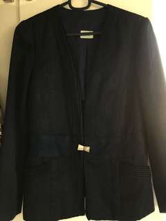 Coat/Blazer (Blue)