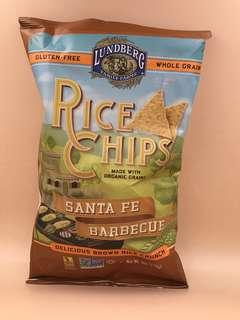 美國直送 全新 Lundberg Santa Fe Barbecue Rice Chips (6oz 170g)