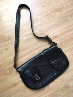 Old School Satchel (Genuine leather and Japan brand)