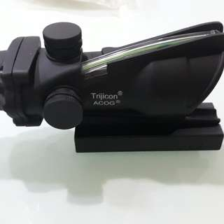 Replica fibre optic Trijicon ACOG 1x Scope