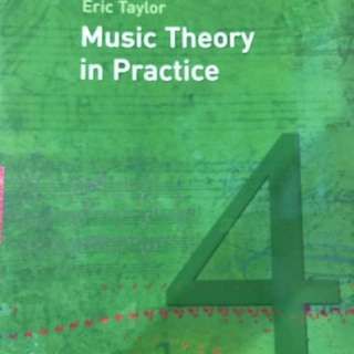 ABRSM Music Theory in Practice Grade 4 Eric Taylor