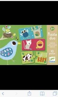 Djeco puzzle animal home