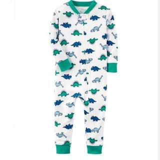Carter's dino organic cotton footless Pyjamas