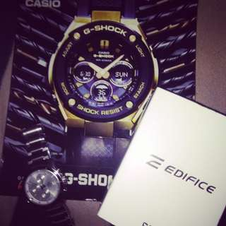 CASIO EDIFICE 40% OFF