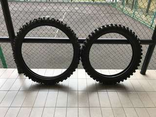 Off-road tires KLX